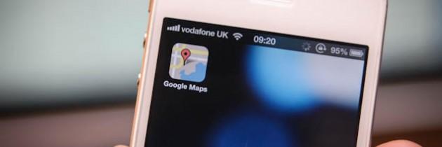 Mensen updaten massaal naar iOS6 dankzij Google Maps