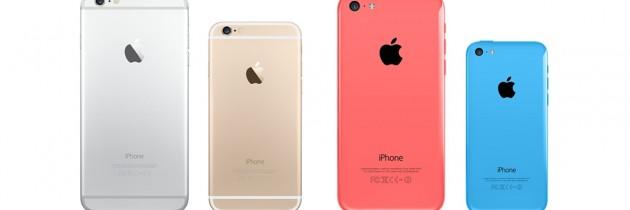 4 toestellen verwacht op het iPhone-event 2015