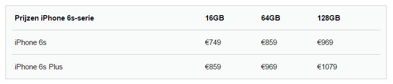 iphone-6s-prijzen