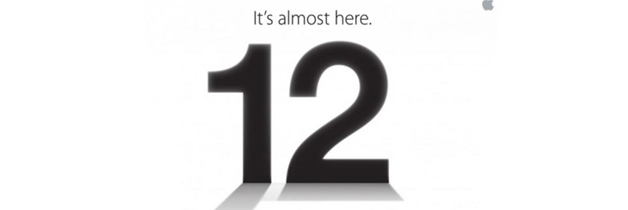 Apple iPhone 5 launch event