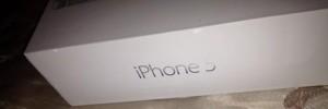 Foto doos nieuwe iPhone 5 uitgelekt!!