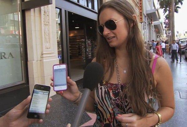 iPhone 5 – de straat op