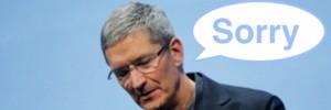 Apple biedt excuses aan voor kaarten app