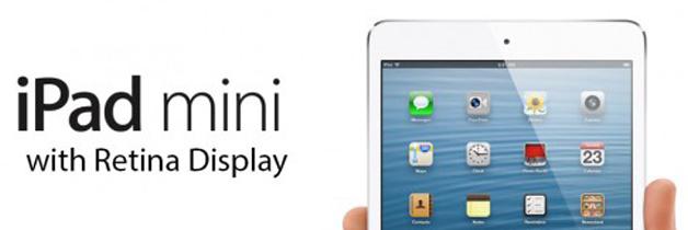 iPad Mini met Retina Display in aantocht?