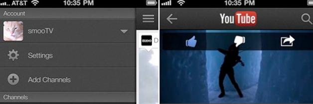 YouTube app update voor iOS