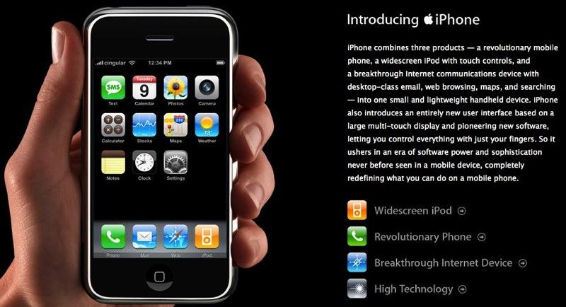 originele iPhone binnenkort 'verouderd'
