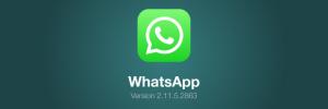 Is Whatsapp eindelijk iOS 7 ready?