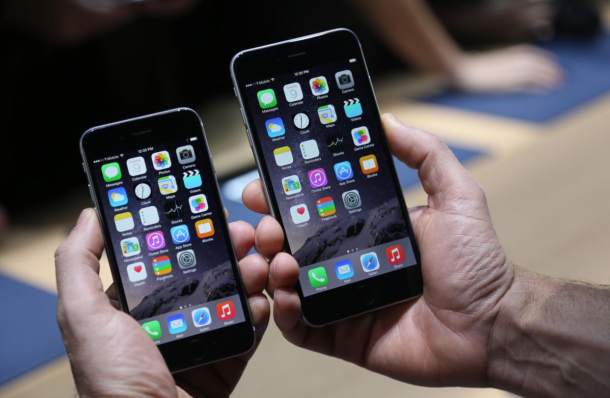 iPhone 6 Plus populairder dan kleine broertje