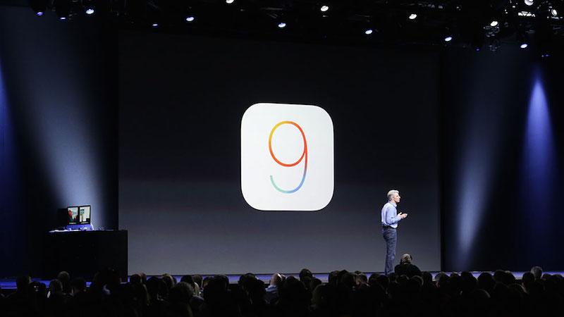 Jawel hoor! Daar is dan eindelijk iOS9!