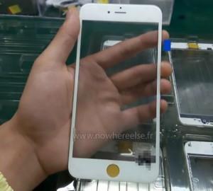 Is dit het voorpaneel van de iPhone 6S?