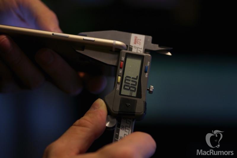 Meten is weten! iPhone 6S inderdaad iets groter en dikker dan voorganger